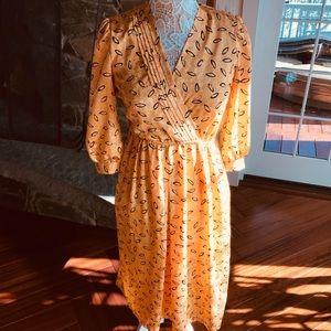 Orange 🍊 vintage dress
